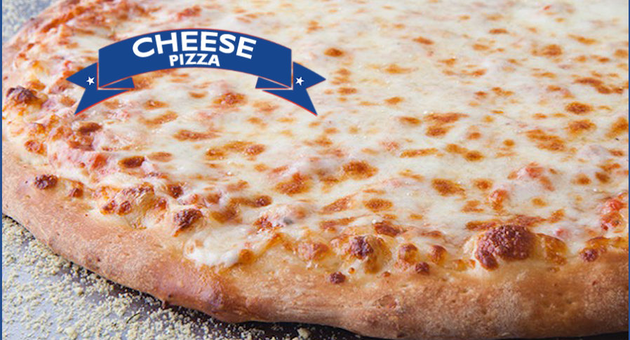 Cheese Pizza. Don't forget our Gluten Free Crust